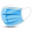 Masca de protectie unica folosinta, 3 straturi, albastru 50 buc\cutie
