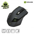 Mouse de Gaming KEEPOUT X7 Laser 5000dpi, LED