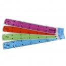 Rigla flexibila color 30 cm Donau Flex