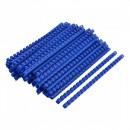 Spire Fellowes, Plastic,indosariat 8 mm pt 45 coli  Negru, 100 Buc
