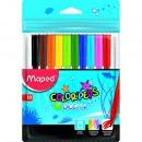Carioci Maped Color'Peps Ocean 10 culori/set