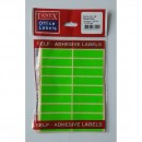 Etichete autoadezive color, 13 x 50 mm, 200 buc/set, Tanex,  fluorescent