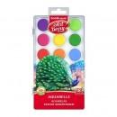 Acuarele Erichkrause Artberry cu protectie UV 18 culori