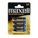 Baterii Maxell Alkaline AA (LR6) 4buc/blister