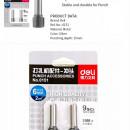 Burghiu perforator Deli E0150, 2 buc/set