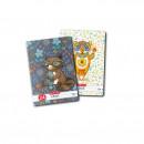 Caiet Tip II, Cute Animals Premium Herlitz, 80g/mp, A5, 24 file