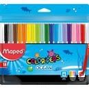 Carioci Maped Color'Peps Ocean, 18 culori/set