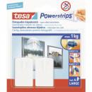Carlig pentru tablouri Powerstrips 2 bucati/set Tesa PowerStrip