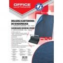 Coperta carton imitatie piele 250g/mp, A4, 100/top Office Products negru