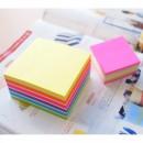 """Cub notes autoadeziv 51 x 51 mm, 250 file, Stick""""n - neon/pastel Verde"""