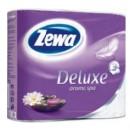 Hartie igienica ZEWA Deluxe 3 str, 4 role parfumata