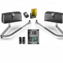 Kit automatizare pentru porti batante KPR Beninca cu 2 brate electromecanice articulate 300 Kg/canat, 3 m/canat