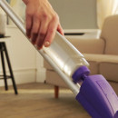 Mop plat microfibra cu coada si sistem de pulverizare, 41 x10 cm