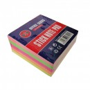 Notes adeziv 75x75 mm, 400 file, 5 culori neon B4U