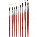 Pensula S423 Nr.1 varf rotund Pax