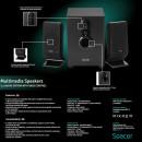 Sistem boxe 2.1 Spacer SPB-2200