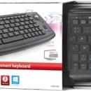 Tastatura SmartTV, PS, XBOX Trust Adura, Wireless Multimedia , Negru