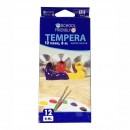 Acuarele tempera School Friendly pe baza de apa, 12culori x 6 ml