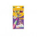 Creioane colorate Bic Evolution Circus, 12 buc/set