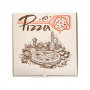 Cutie Pizza D30 x 30 x 3.5 cm Alb Hot Pizza