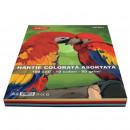 Hartie colorata A4, 100 coli, 10 culori DACO 80g/mp