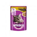 Hrana umeda de pasare pentru pisici Whiskas, 100g