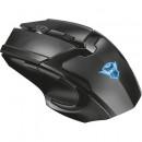Mouse gaming wireless Trust GXT 103 Gav, 2000 Dpi, 6 butoane, Negru