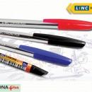 Pix cu capac, LINC Corona  1 mm albastru