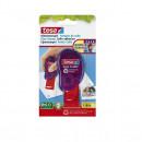 Stampila lipici, TESA GLUE STAMP 1100 aplicari, 8.4 mm x 8.4 mm