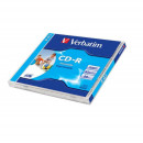 Verbatim 700MB CD-R 52X Fast Dry Printabil Jewel Case