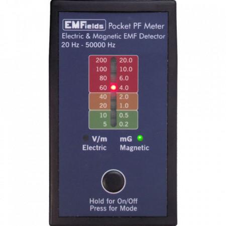 Poze PF5 Pocket Meter - detector radiatii electrice, magnetice - 20 Hz - 50000 Hz