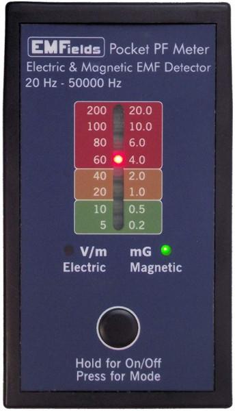 Poze Detector de radiatii electromagnetice PF5 Gauss meter 20 Hz-50 kHz Pocket PF Meter