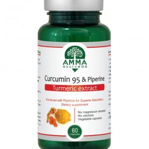 Curcumin 95 & Piperine calitate PREMIUM - Capsule 500 mg