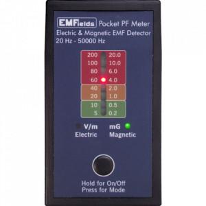 PF5 Pocket Meter - detector radiatii electrice, magnetice - 20 Hz - 50000 Hz