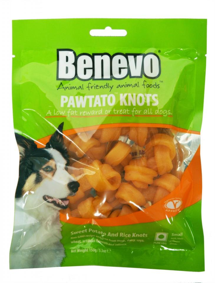 Recompense vegetariene Benevo, oase inodate mici, 150g, pentru caini imagine