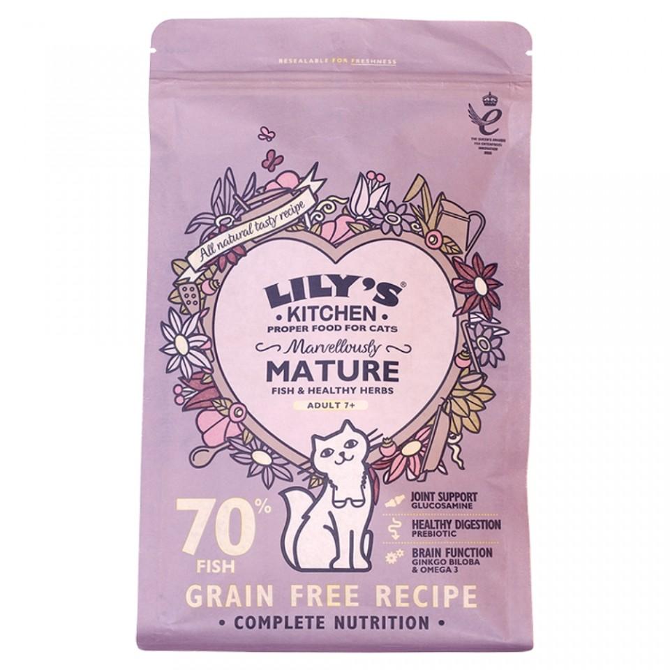 Hrana uscata pentru pisici Lily's Kitchen Marvelously Mature 800g imagine