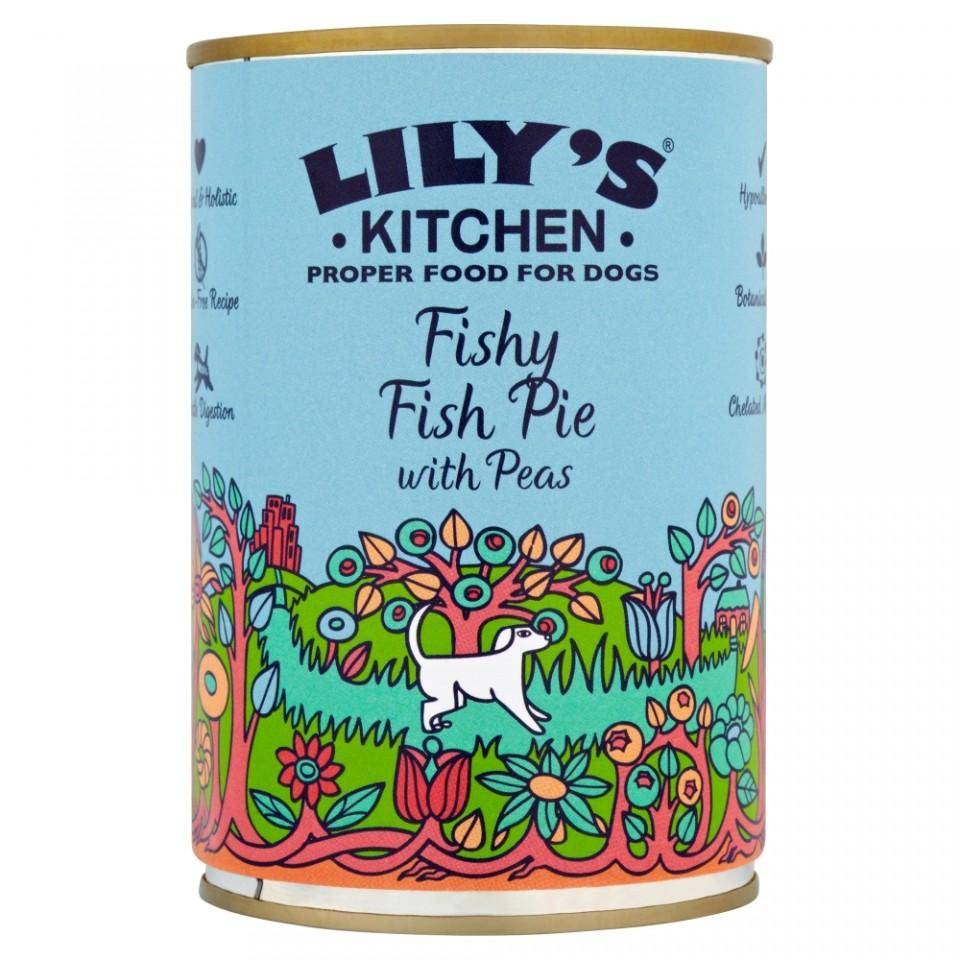 Hrana umeda pentru caini Lily's Kitchen Fishy Fish Pie 400g imagine