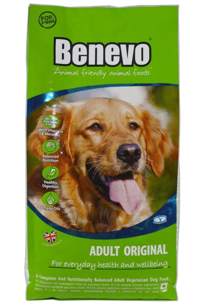 Hrana uscata vegetariana Benevo, ingrediente naturale, 2Kg, pentru caini imagine