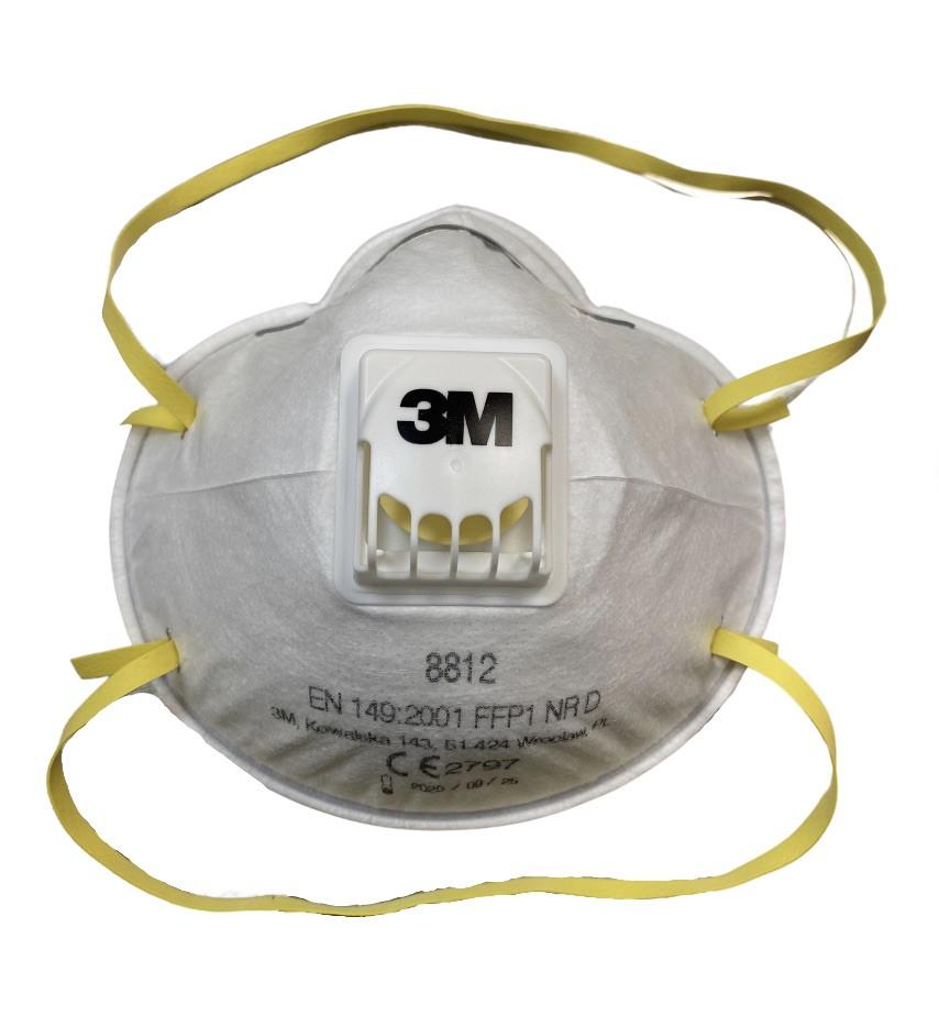 Masca FFP1 3M cu valva 8812 imagine