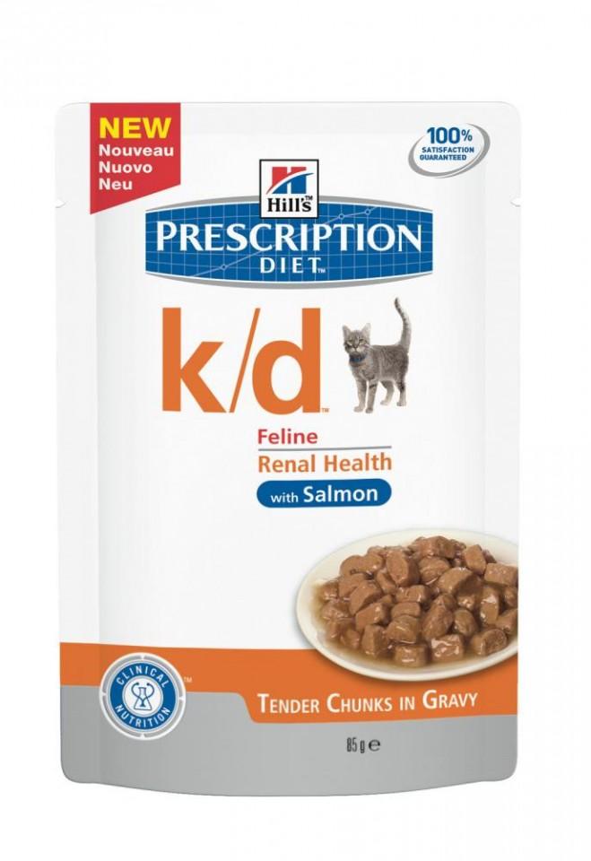 Plic pisici Hills k/d 85g - probleme renale imagine
