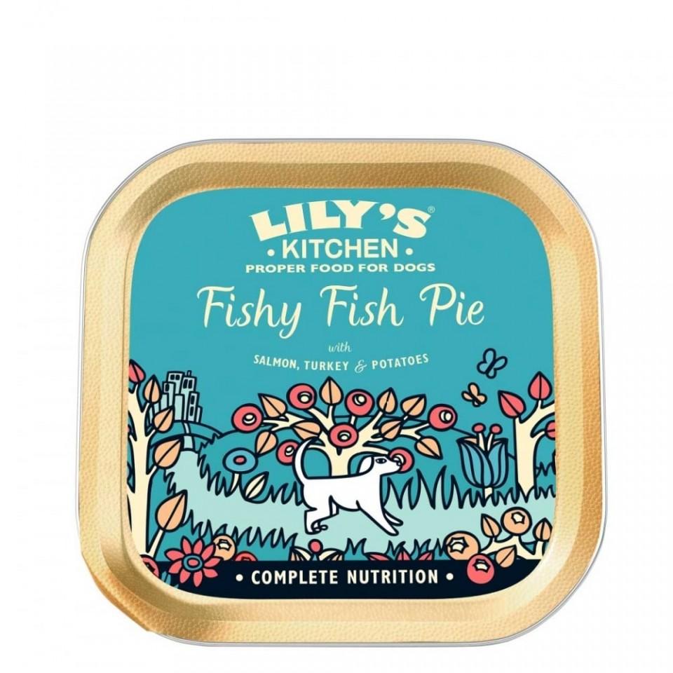 Hrana umeda pentru caini Lily's Kitchen Fishy Fish Pie 150g imagine