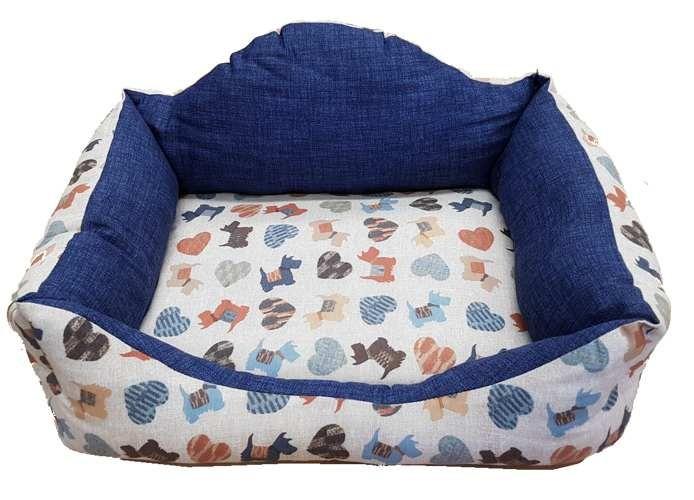 Patut confortabil pentru catei - Perritos multicolor imagine