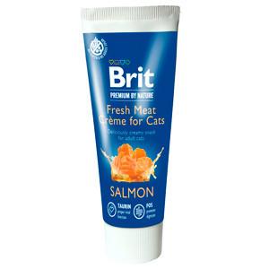 Brit Premium By Nature Cat Salmon Fresh Meat Creme 75 g