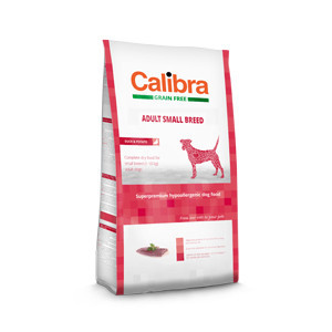 Calibra Dog GF Adult Small Duck 7 kg