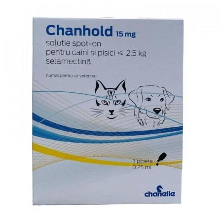 Chanhold 15mg caini&pisici <2.5kg