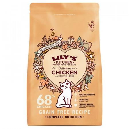 Poze Hrana uscata Lily's Kitchen, ingrediente Naturale, cu Pui, 2kg, pentru pisici