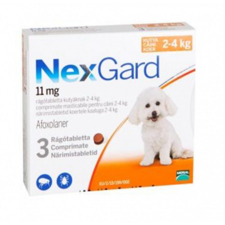 Nexgard S caini 2-4kg