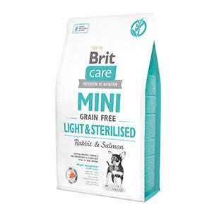 Brit Care Mini Grain Free Light and Sterilised 2 kg