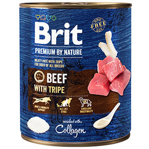Brit Premium by Nature Beef with Tripes 800 g conserva