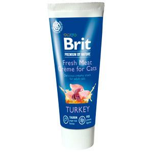 Brit Premium By Nature Cat Turkey Fresh Meat Creme 75 g